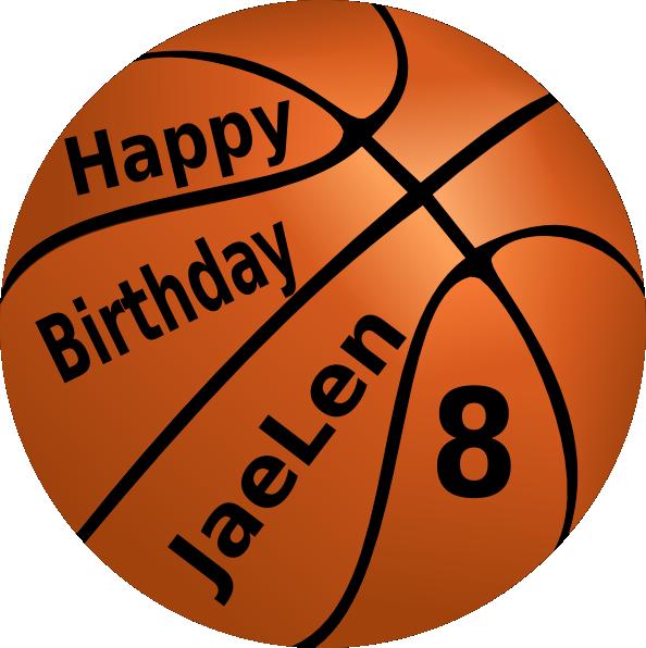 clipart basketball happy birthday