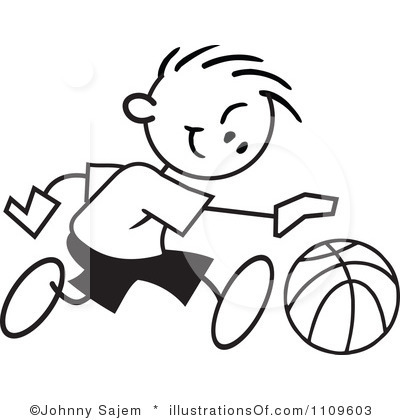 Boys clipart basketball player. Black and white panda