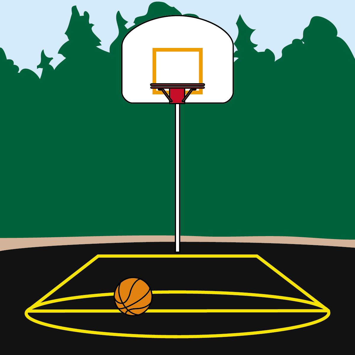 Court . Gym clipart basketball gym