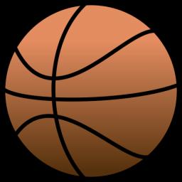 Free clip art clipartix. Basketball clipart simple