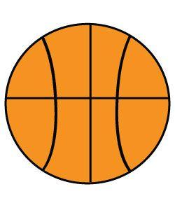 Basketball clipart simple. Free clip art clipartix