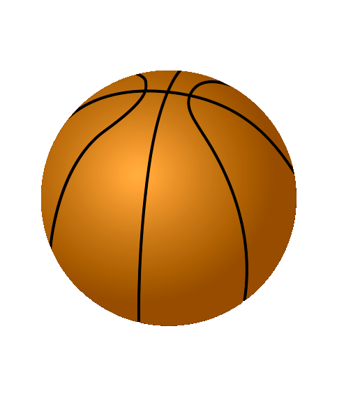 Fifteen png image. Basketball clipart transparent background