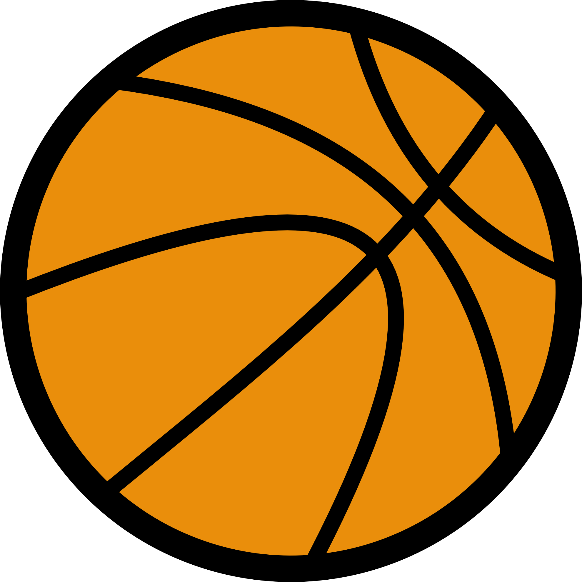 Clipart png basketball. Clip art mart