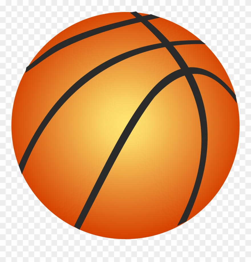 Basketball clipart transparent background. Free cliparts download