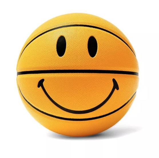 Basketball Smiley. Now a faced boing