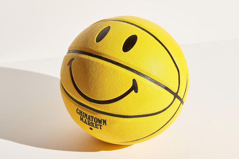 Basketball Smiley. Chinatown market for uo