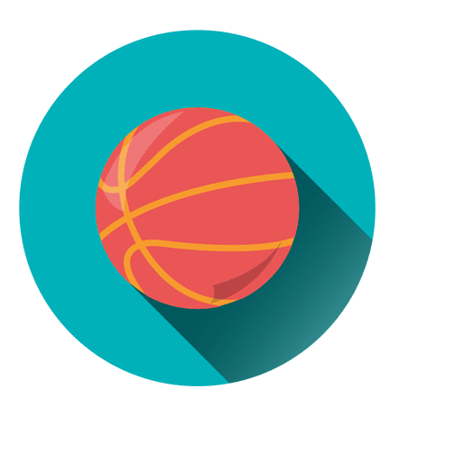 Circle icon transparent svg. Basketball vector png