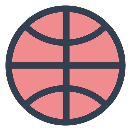 Basketball vector png. Ball stroke icon transparent