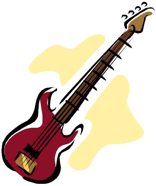 bass clipart bass guitar