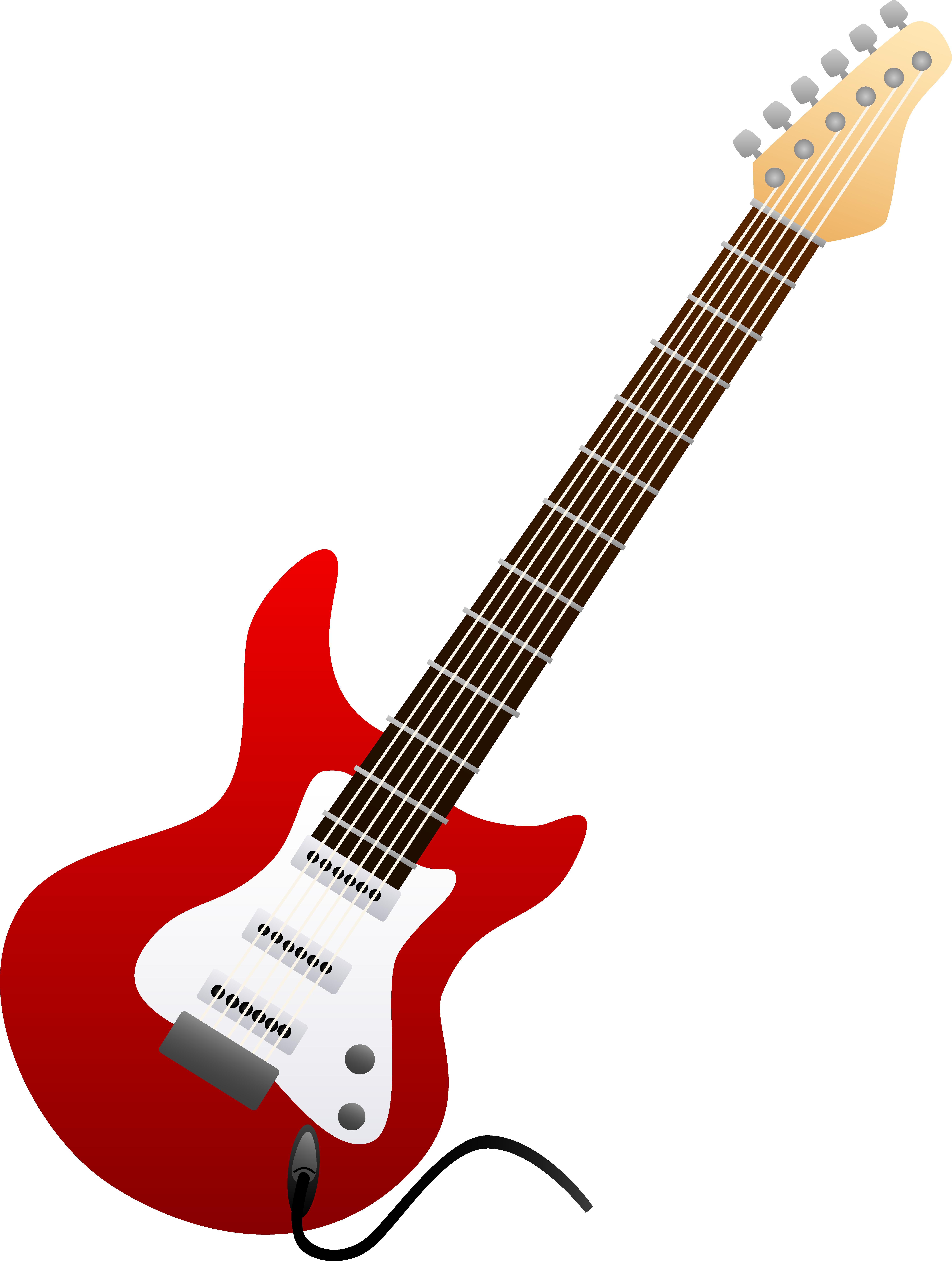Bass vector panda free. Clipart guitar concert