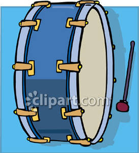 Bass clipart cartoon. Drum royalty free picture