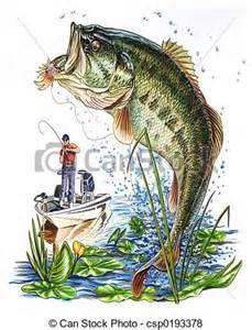 best fishing images. Bass clipart cartoon