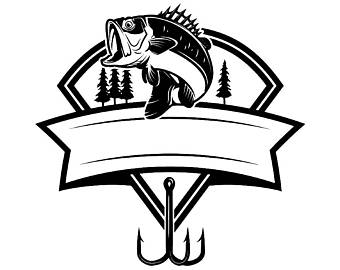 Fresh water fish etsy. Bass clipart fishing competition