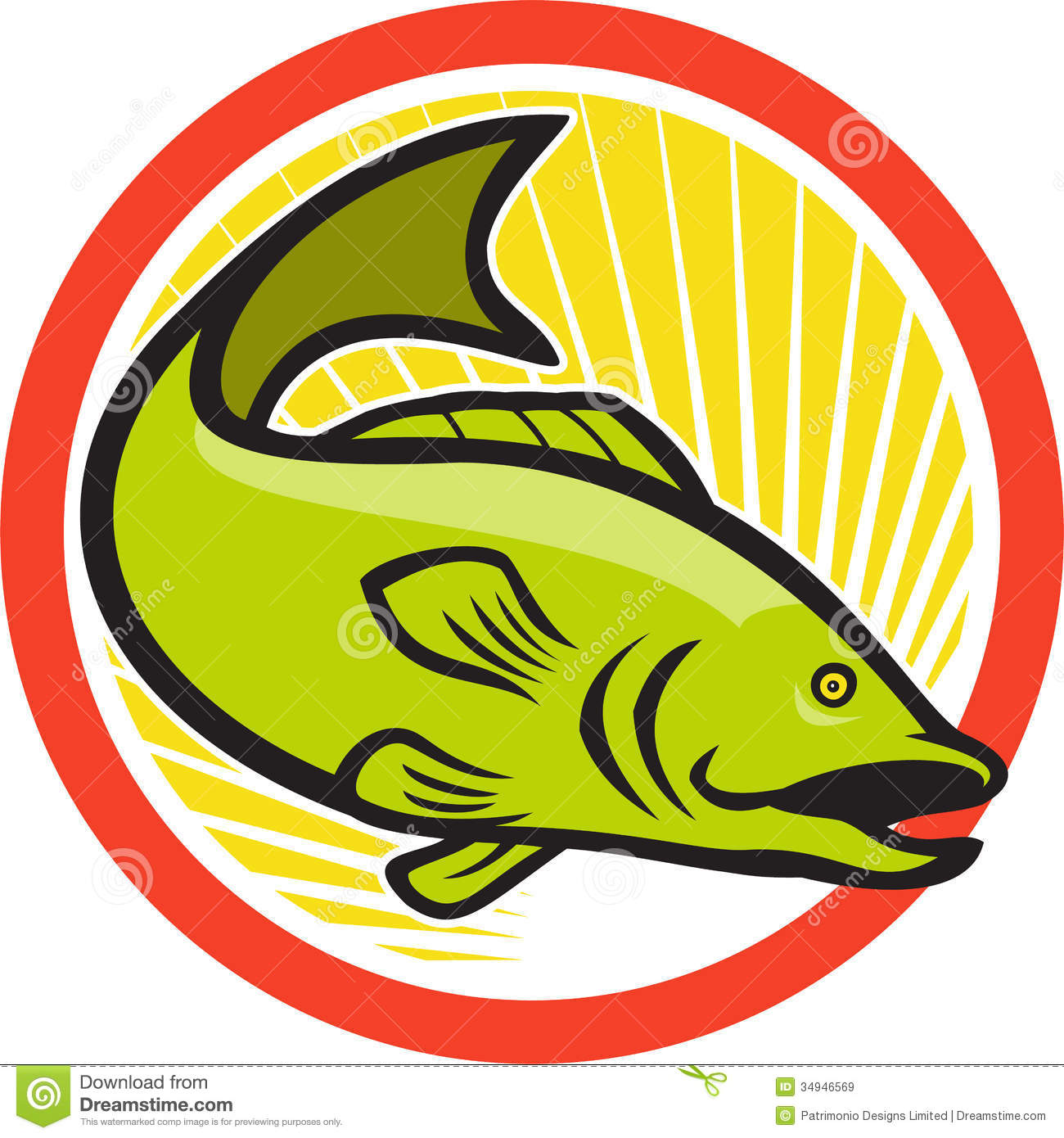 Bass clipart fishing competition. Jumping fish clip art