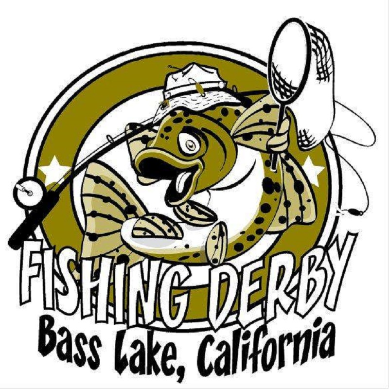 Bass clipart fishing derby.  lake