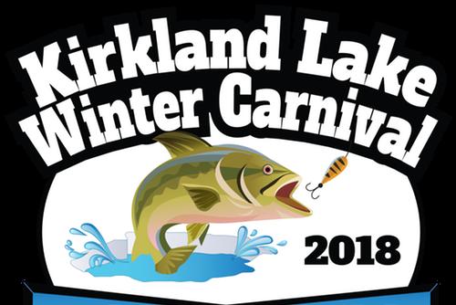 Bass clipart fishing derby.  kirkland lake winter