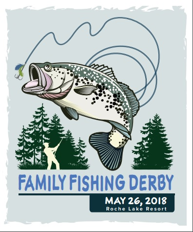 Family and the forever. Bass clipart fishing derby