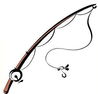 Fishing clip art gear. Fisherman clipart rod