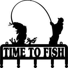 . Bass clipart gone fishing