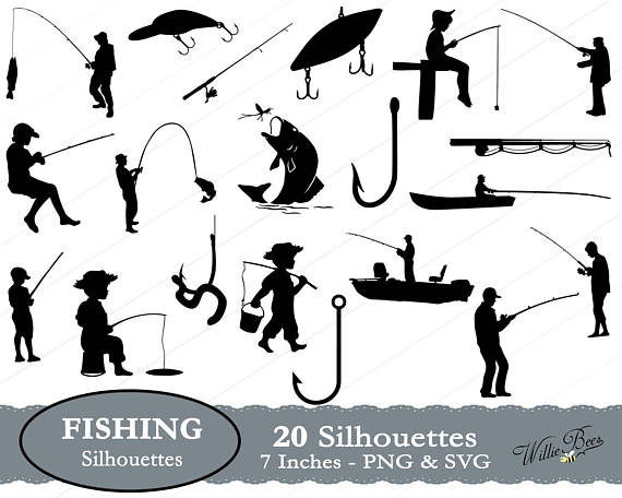 Svg fish image hook. Bass clipart gone fishing