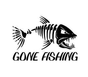 Bass clipart gone fishing. Sticker fish reel lure