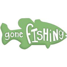 bass clipart gone fishing