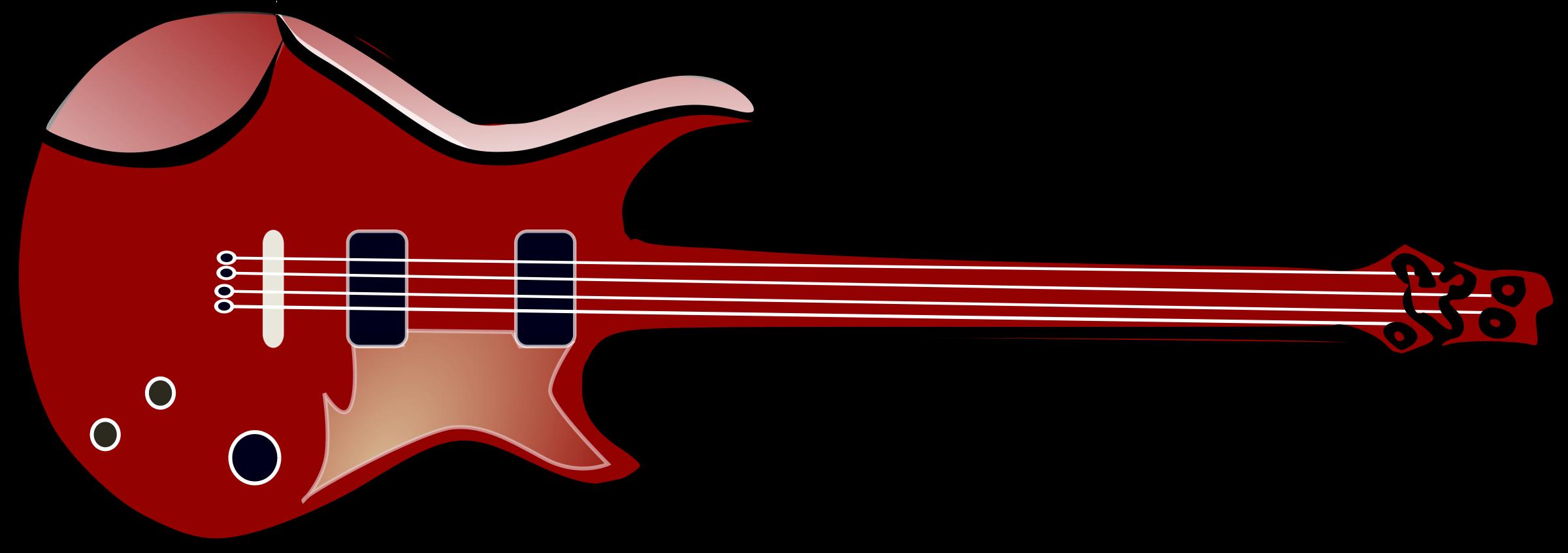 Bass panda free images. Clipart guitar jpeg