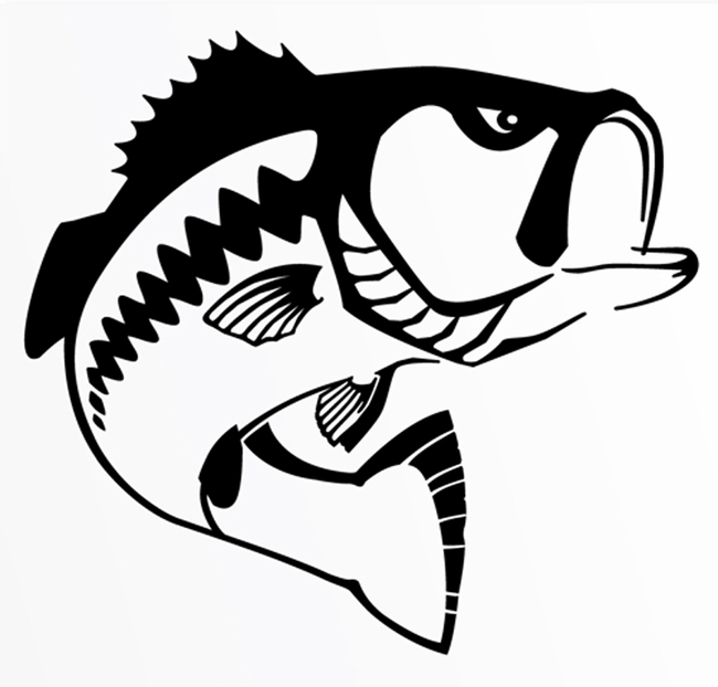 bass clipart largemouth bass