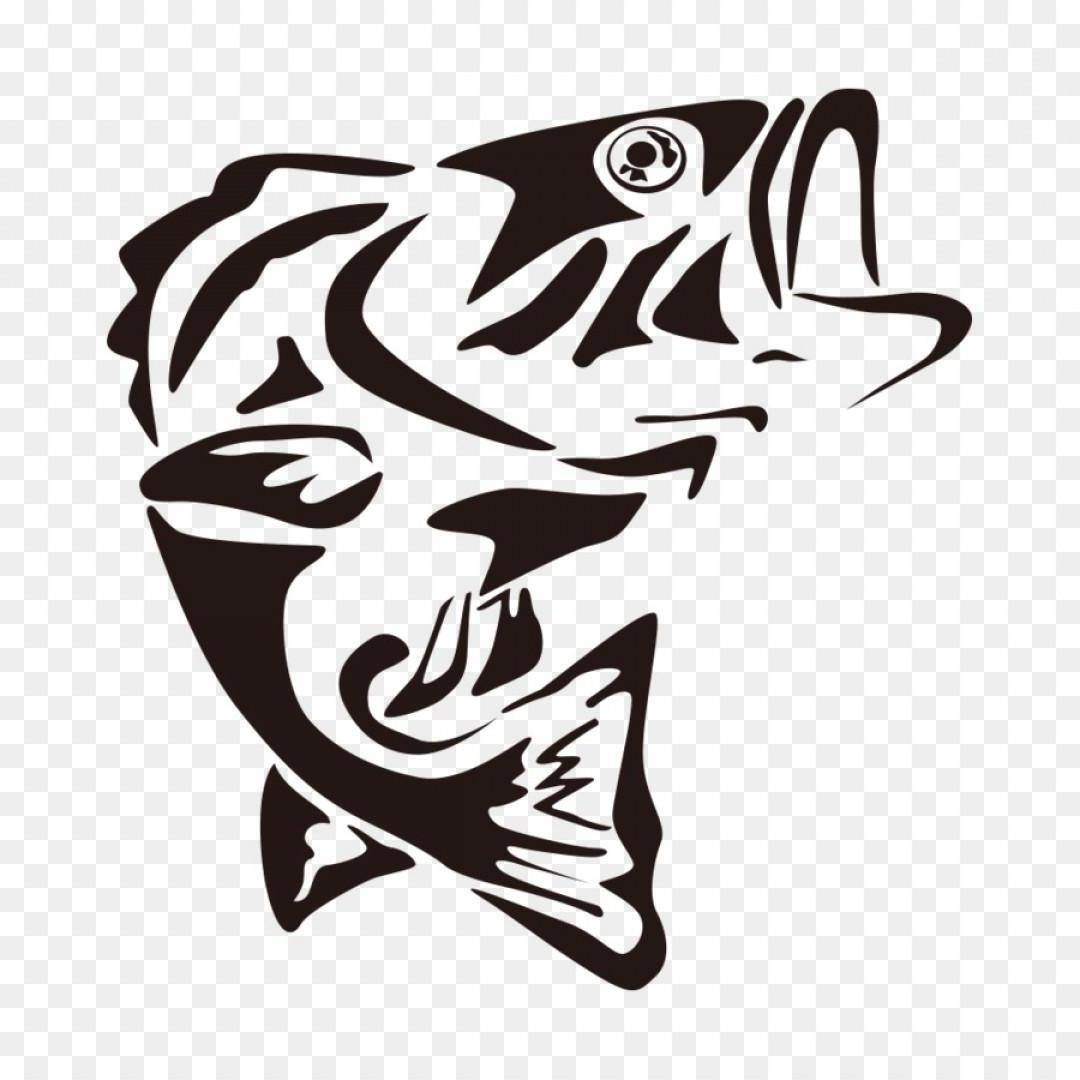 Best fish clip art. Bass clipart silhouette