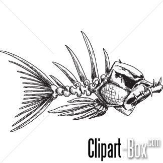 Catfish clipart skeleton.  best tat black