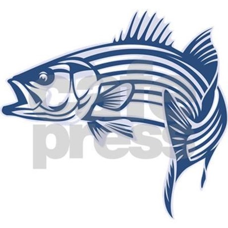 Bass clipart striped bass. Graphic mousepad by fishedimpressions