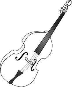 Double b and w. Bass clipart transparent