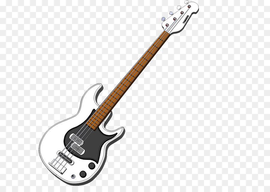 Guitar clip art png. Bass clipart transparent
