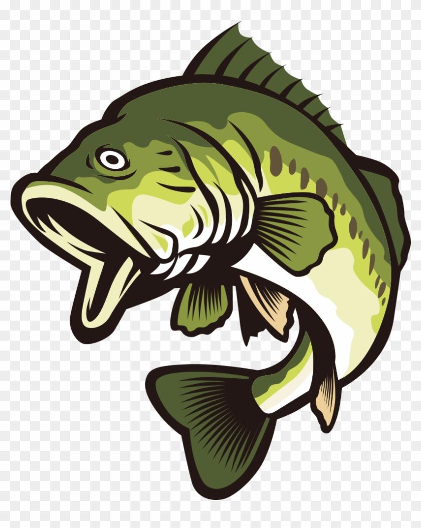 Bass clipart transparent. Largemouth clip art
