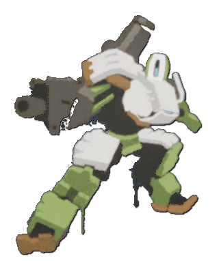 Image spray action wiki. Bastion overwatch png