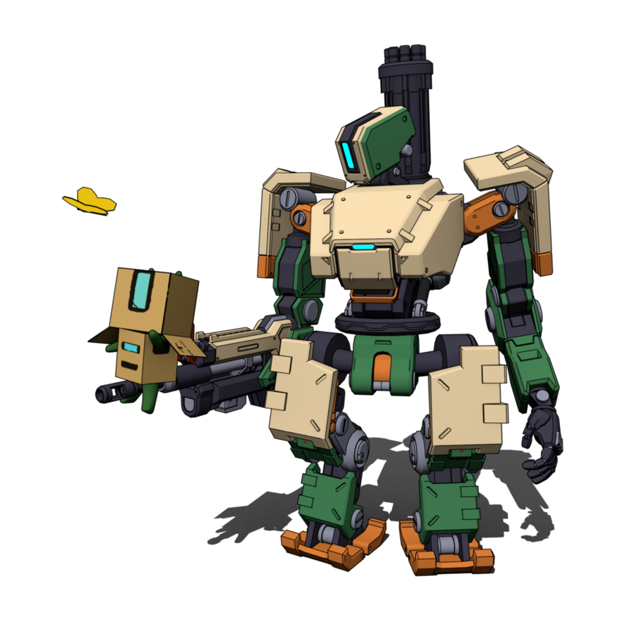 Bastion overwatch png. And bastnyan by denalcc