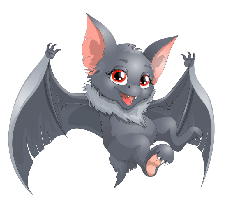 Bat clipart.  free black and