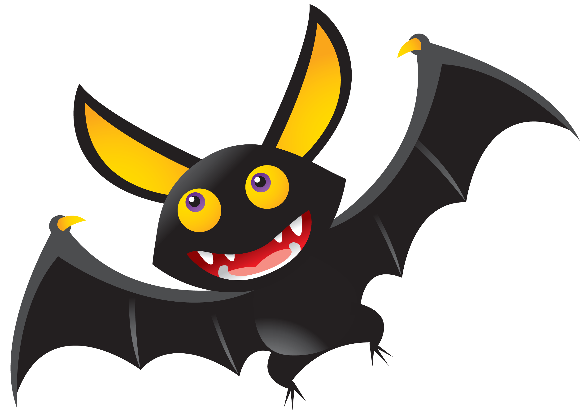 Free . Clipart animals bat