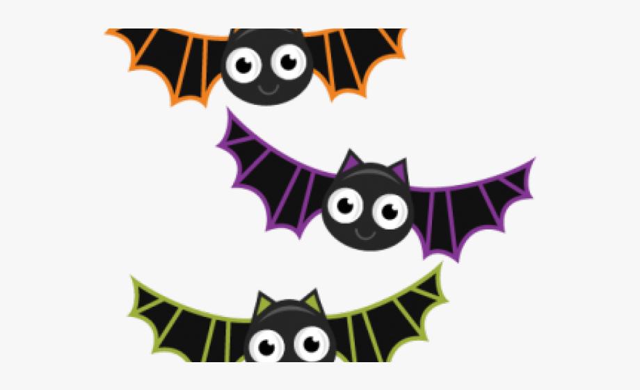 Bat clipart. Cute halloween bats free