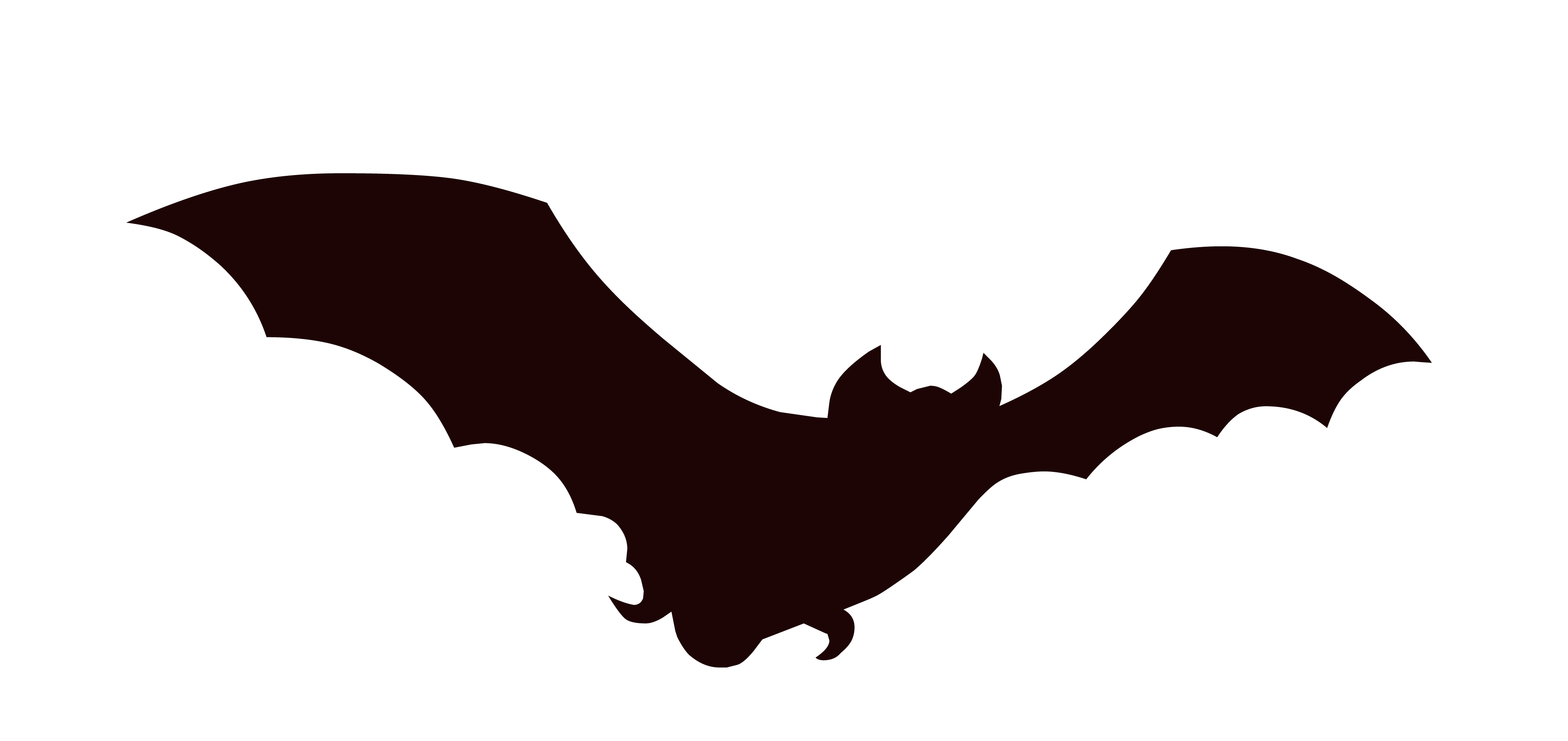 Silhouette at getdrawings com. Mango clipart bat
