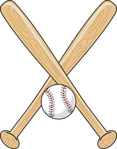 Baseball bat printable. Bats clipart transparent free