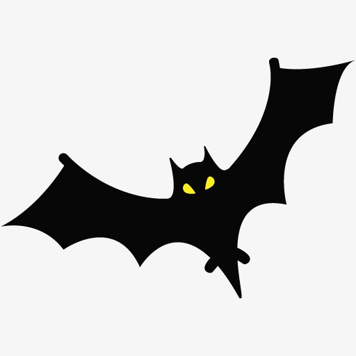 Black birds png image. Bat clipart bird