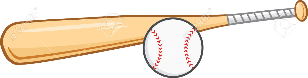 Bat clipart boll. And ball collection