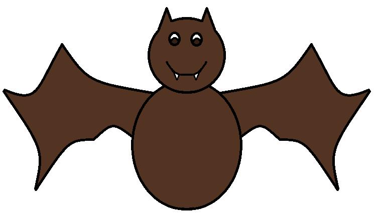 clipart bat three