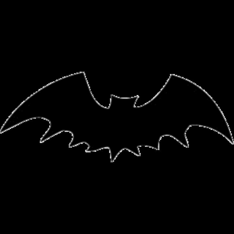 free bat black. Bats clipart clear background