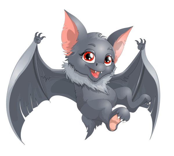Clipart animals bat. Transparent halloween cartoon png