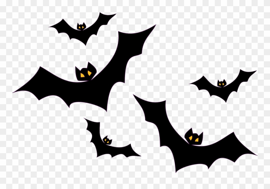 Halloween png transparent . Bat clipart creepy