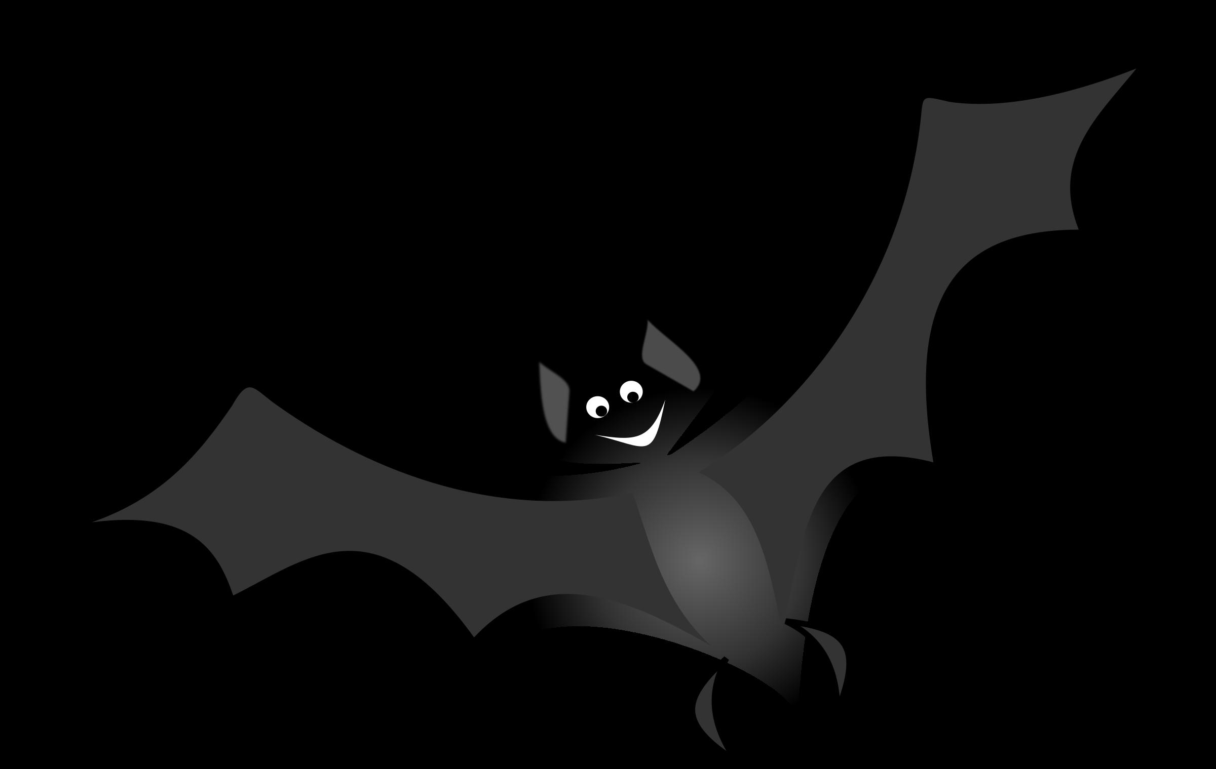 Bat clipart creepy.  spooky halloween writing