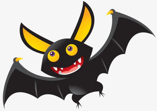 Bat clipart cute. Little cartoon lovely small