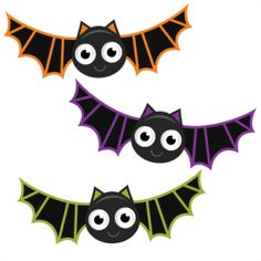 Bat clipart cute. Halloween free